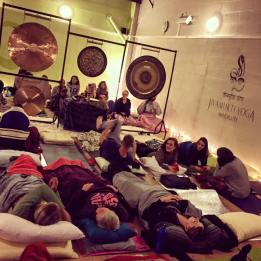 Happy bunch at One Yoga