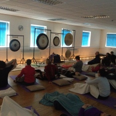 at Heaton Mersey iYoga...